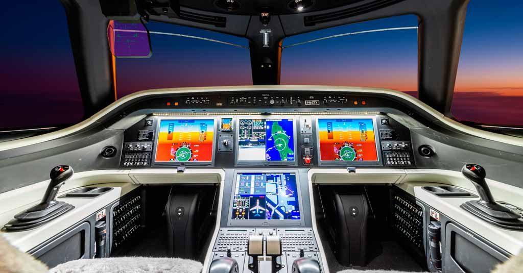 Embraer Praetor 600 - Collins Aerospace Pro Line Fusion Avionics