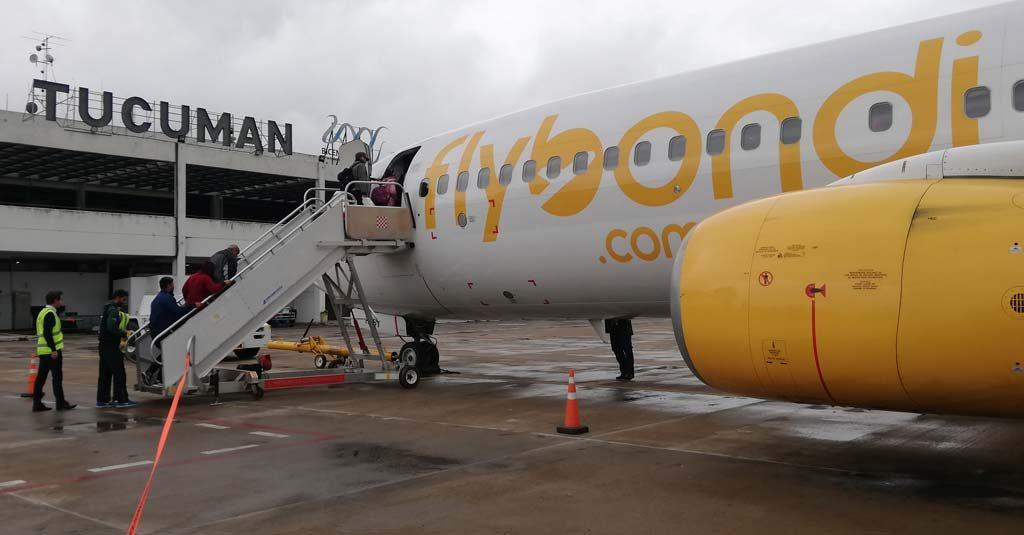 Flybondi Tucuman - Rosario / Low Cost
