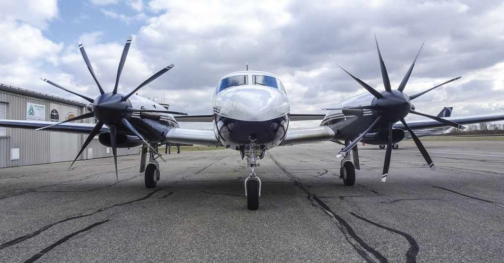 MT-Propeller 9 blades Piper Cheyenne