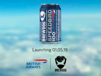 British Airways Speedbird100 Beer