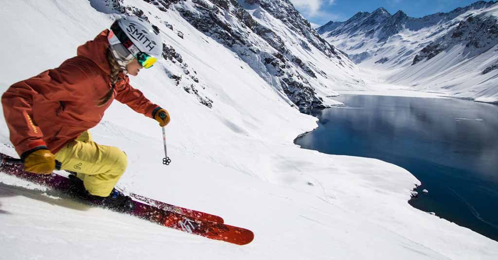 Chile Ski Portillo Nieve