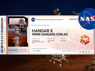 NASA Mars2020 Boarding Pass