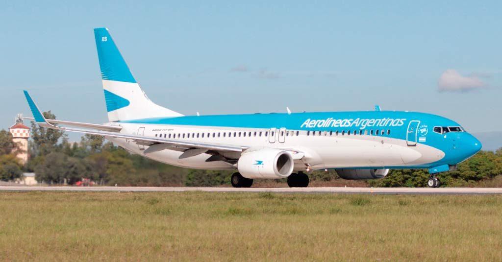 Aerolíneas ArgentinasBoeing 737-800