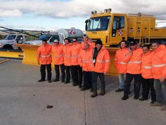 Aviación Argentina - Programa de Control de Hielo y Nieve