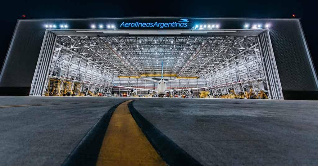 Aerolíneas Argentinas - Hangar 5 Servicios MRO (Ezeiza)