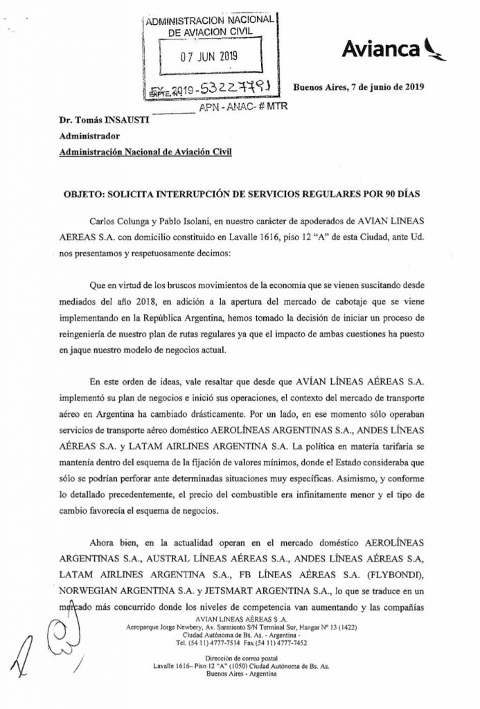 Avianca-Argentina-Interrupcion-de-Servicios-regulares-por-90-dias_001