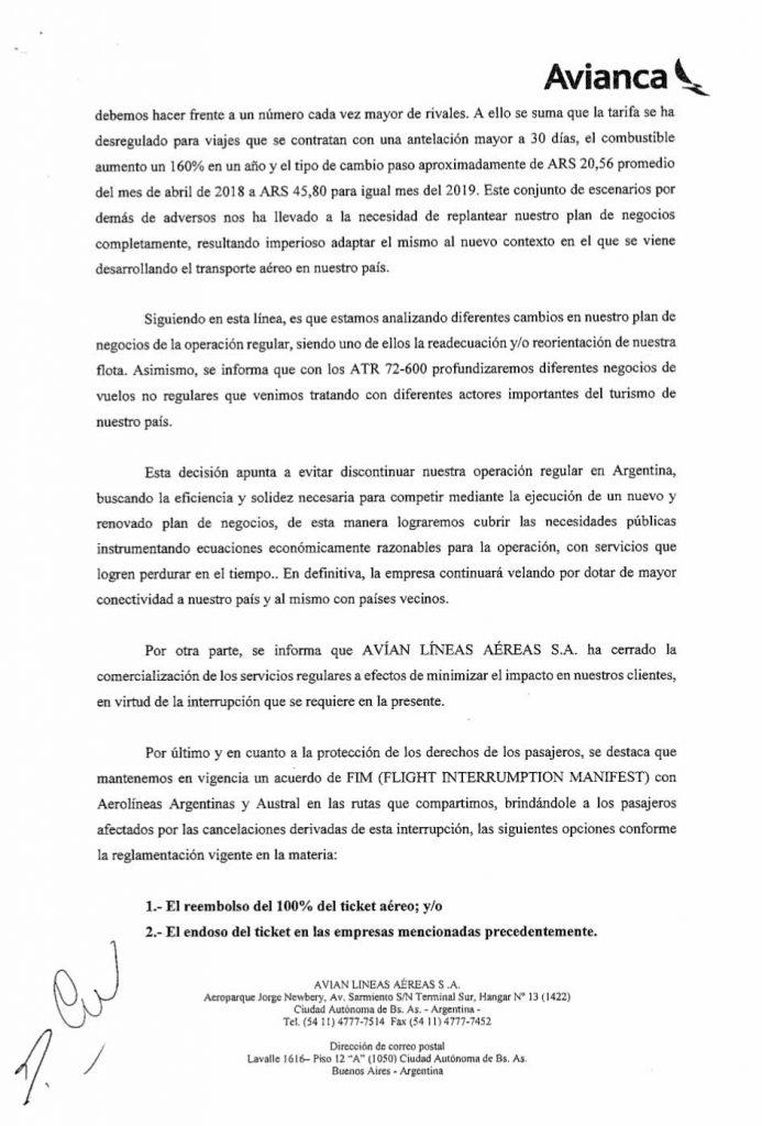 Avianca-Argentina-Interrupcion-de-Servicios-regulares-por-90-dias_002