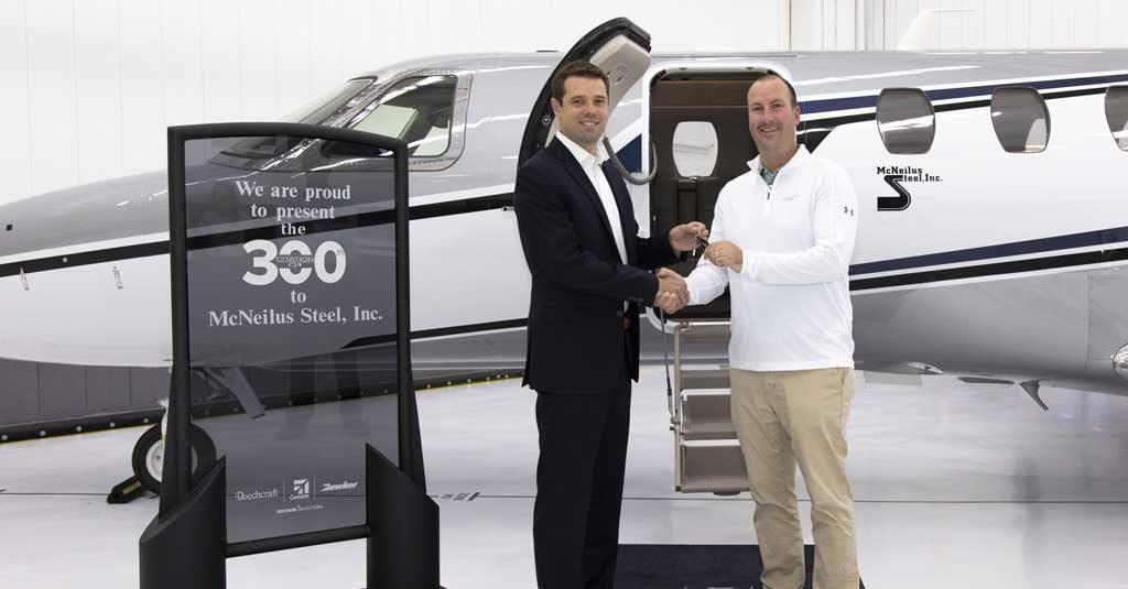 Textron Aviation - Cessna Citation CJ4 300th