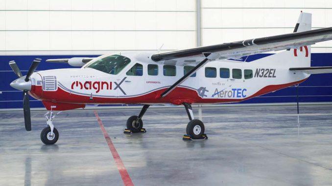 Cessna Caravan 208B Electric MagniX AeroTec