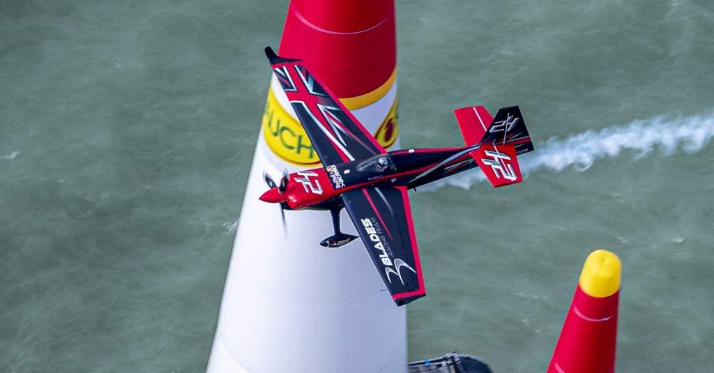 Red Bull Air Race 2019 - Ben Murphy Balaton Podium