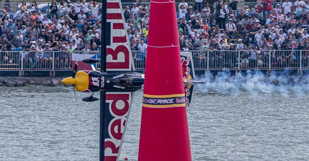 Red Bull Air Race 2019 - Martin Sonka Balaton Podium