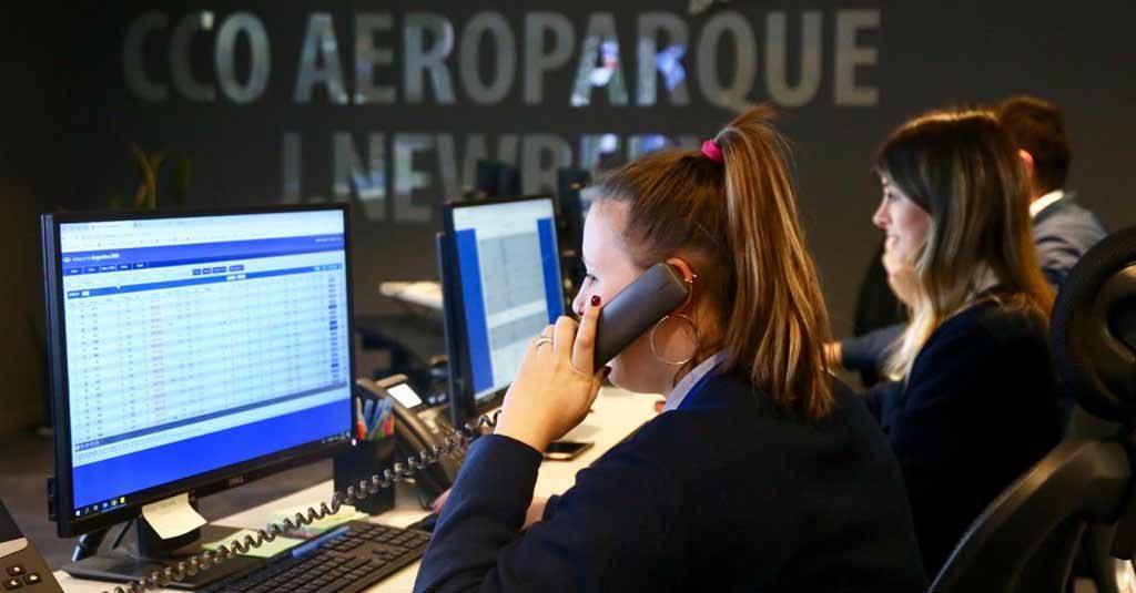 """CCO del Aeroparque """"Jorge Newbery"""""""