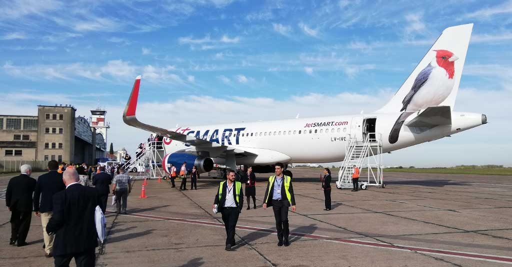 Airbus A320 JetSMART Argentina - Aeropuerto El Palomar