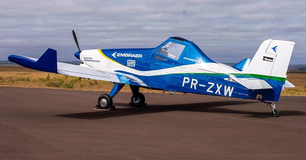Embraer EMB-203 Ipanema - Demostrador Eléctrico