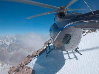 Airbus Helicopters hizo cumbre en el Aconcagua con su H145