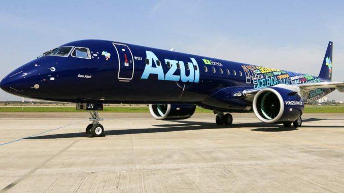 Embraer First E195-E2 AerCap Azul Linhas Aereas