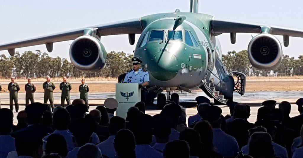 Embraer entregó el primer puente KC-390 a la Fuerza Aérea Brasileña