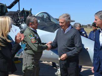 FAdeA entregó un nuevo IA-63 Pampa III a la Fuerza Aérea Argentina