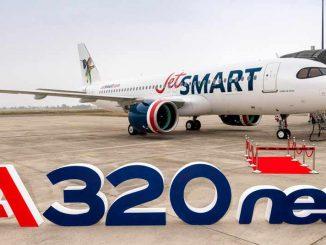 Primer Airbus A320neo JetSMART