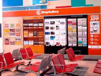 Shop Gallery instala nuevas tiendas virtuales en los aeropuertos de Argentina