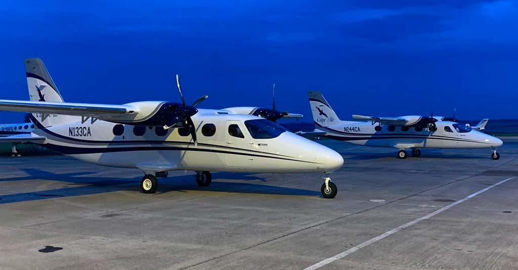 Tecnam P2012 - Traveller / Cape Air