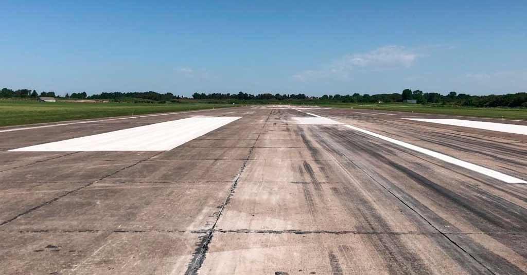 Aeropuerto Internacional de El Palomar / Obras noviembre 2019