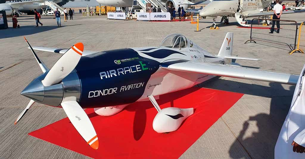 Air Race E - First Race Electric Airplane DAS2019
