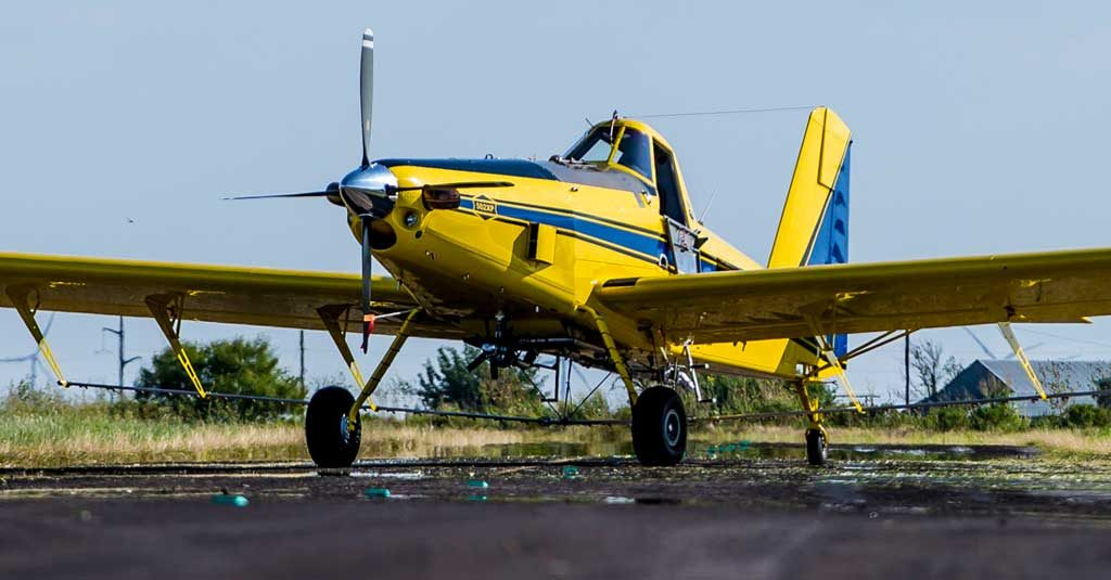 Air Tractor 502XP - Aviación Agrícola