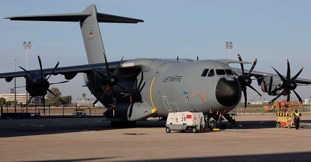 Airbus A400M - Fuerza Aérea de Alemania