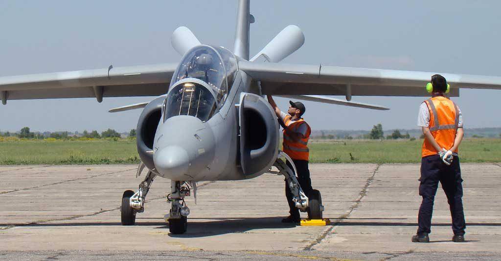 IA-63 Pampa III - Fuerza Aérea Argentina (A-704) / FAdeA
