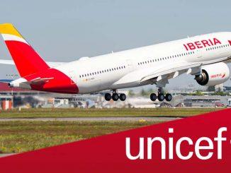 Iberia Unicef - Donaciones