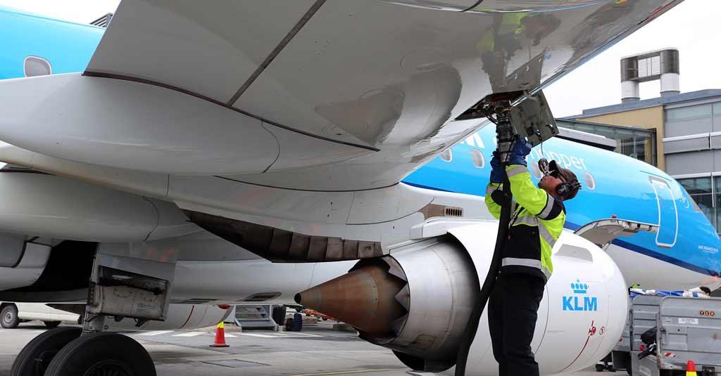 KLM - Programa de Biocombustibles para aviación