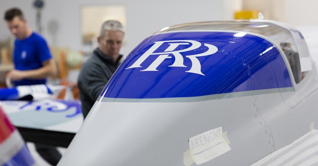 "Rolls-Royce Avión Eléctrico ""ionBird"""