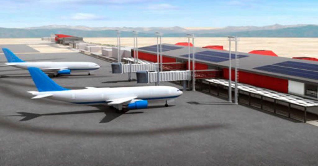 Aeropuerto de La Serena - Chile (Render Proyecto ampliación)