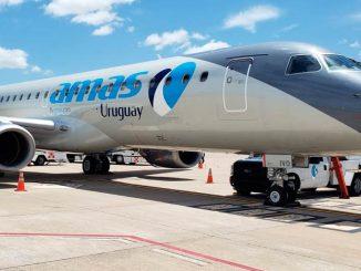 Embraer E190 - Amaszonas Uruguay