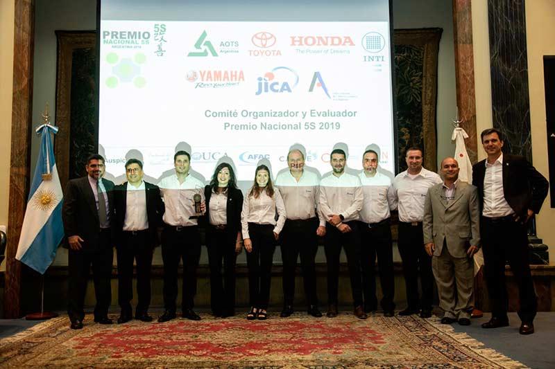 """FAdeA fue reconocida con el PREMIO PLATA por el Comité del """"Premio Nacional 5´S"""""""