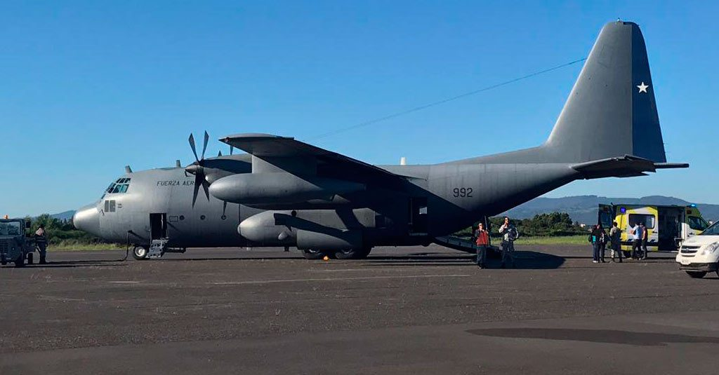 Hércules C-130 / Fuerza Aérea Chile