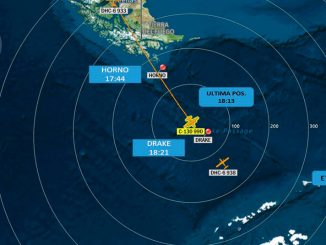 Desaparición del Hércules C-130 de la Fuerza Aérea de Chile