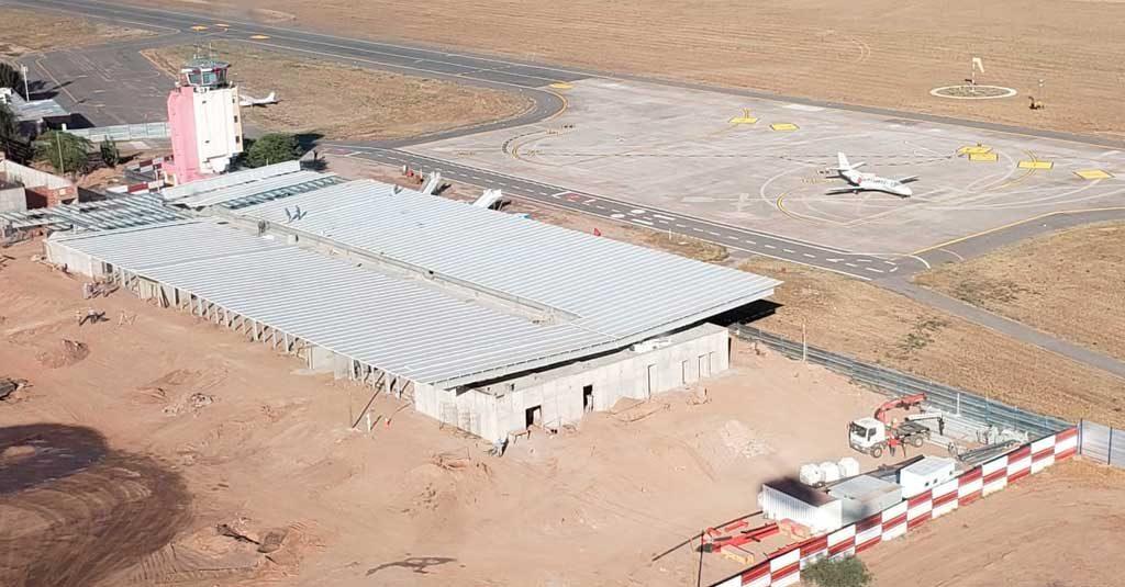 Aeropuerto Internacional de La Rioja - Obras a Diciembre 2019