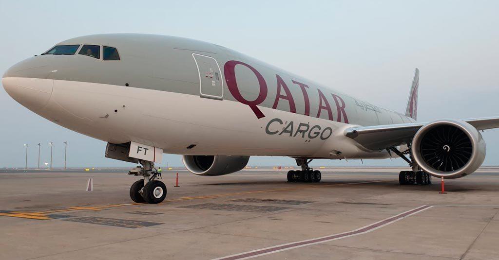 Boeing 777 Freighter - Qatar Airways Cargo