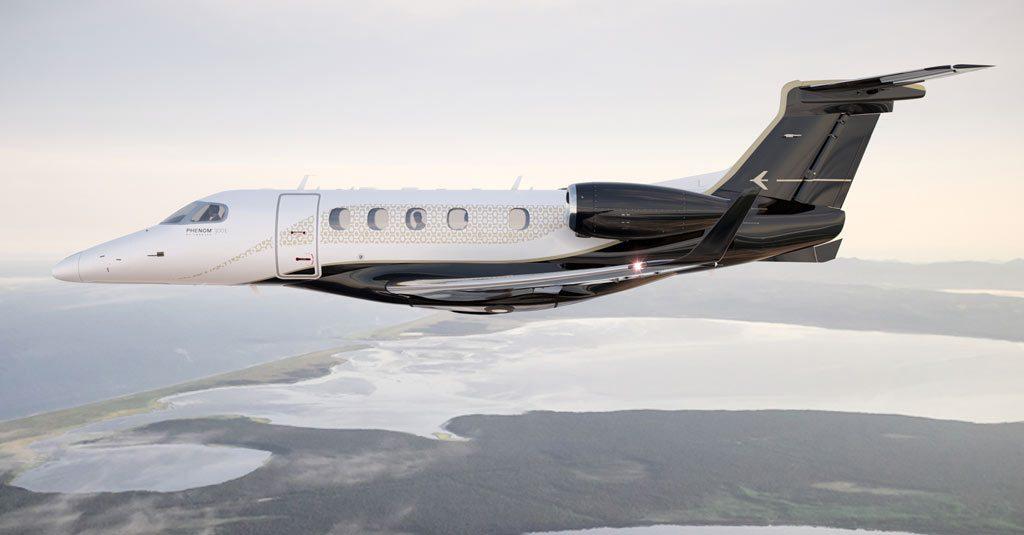 Embraer Phenom 300E / Bossa-Nova (Exterior Render)