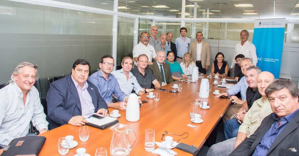 Reunion ANAC y Consejo Consultivo de Aviación Civil - CONAV