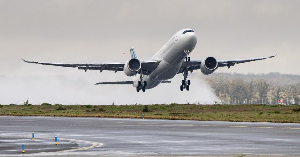 Airbus A330-900 MTOW 251 First Flight