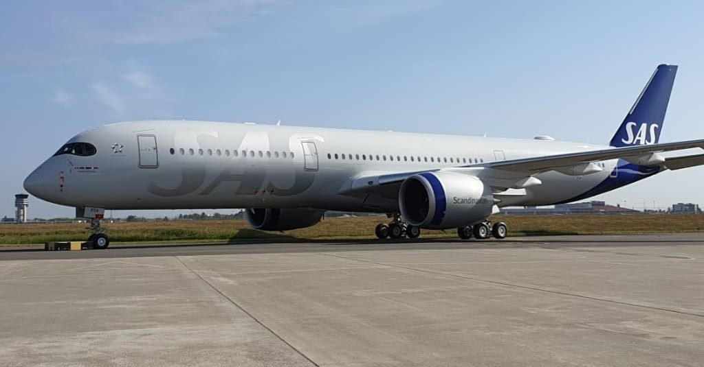 Airbus A350 - Scandinavian Airlines