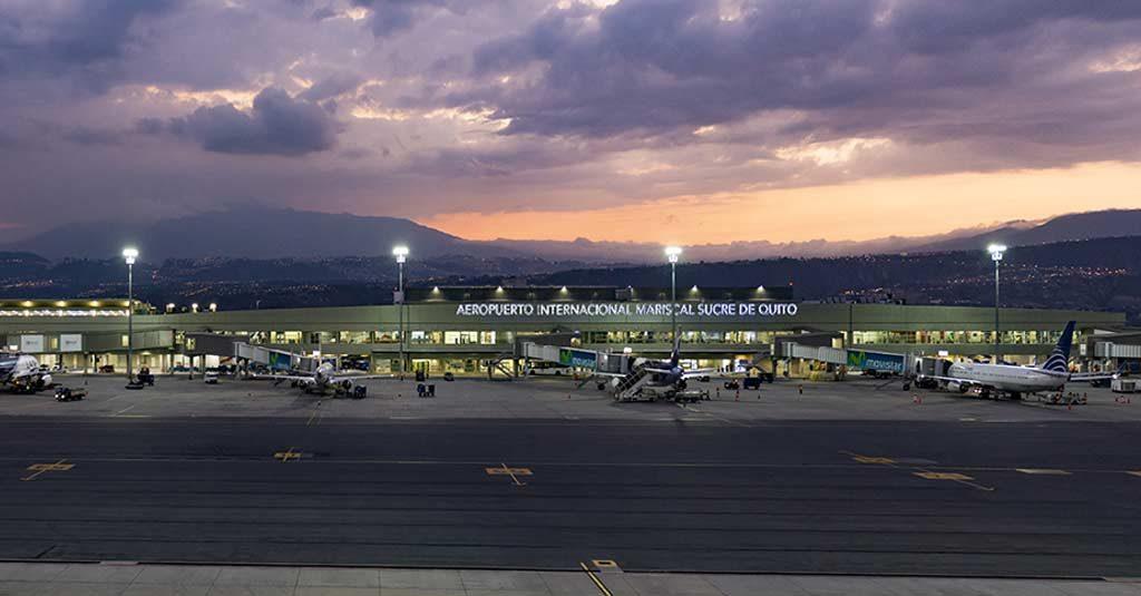 Aeropuerto Internacional Mariscal Sucre / Quito, Ecuador