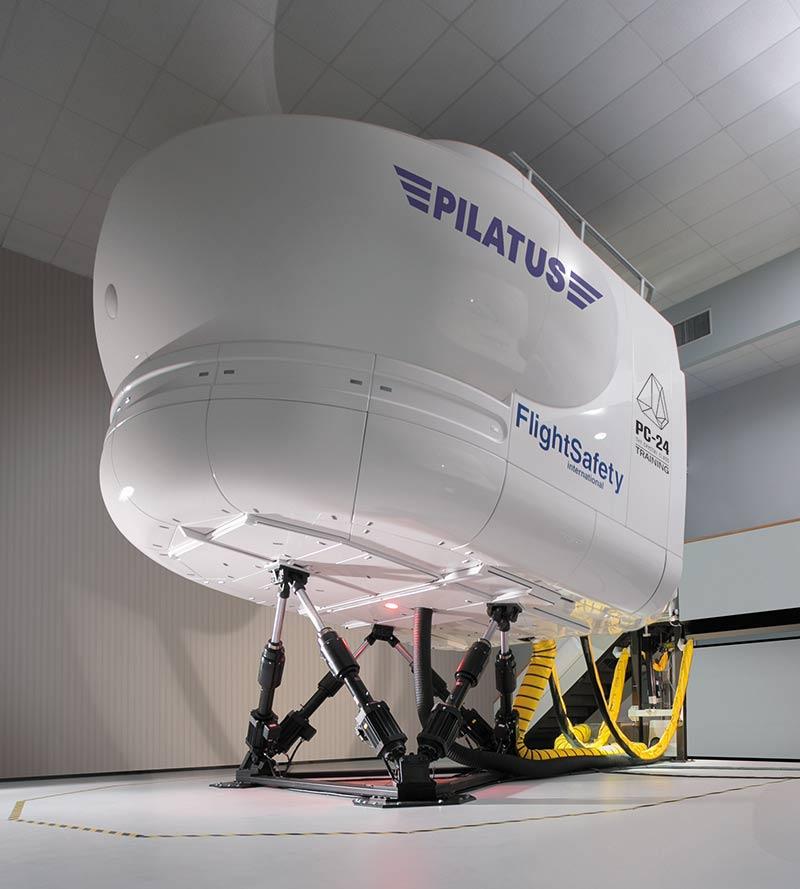 FlightSafety - Simulador de Pilatus PC-24