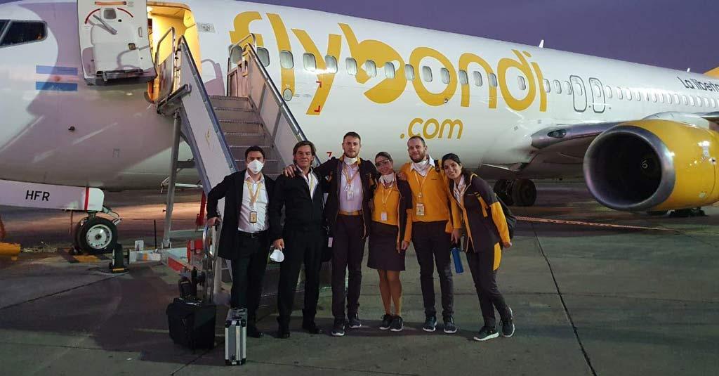 Flybondi Vuelos de Repatriación de Argentinos