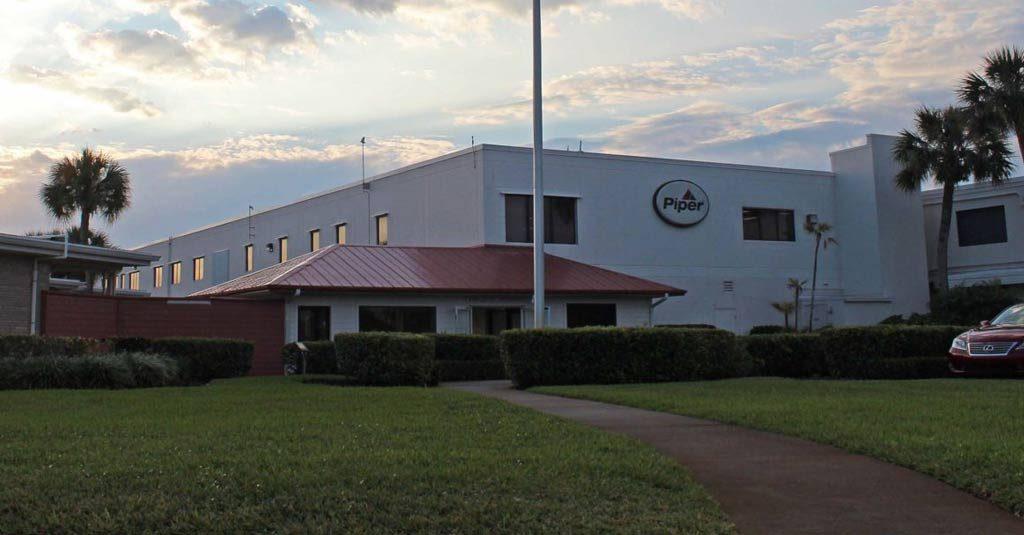 Piper Aircraft - Headquarters at Vero Beach, FL USA