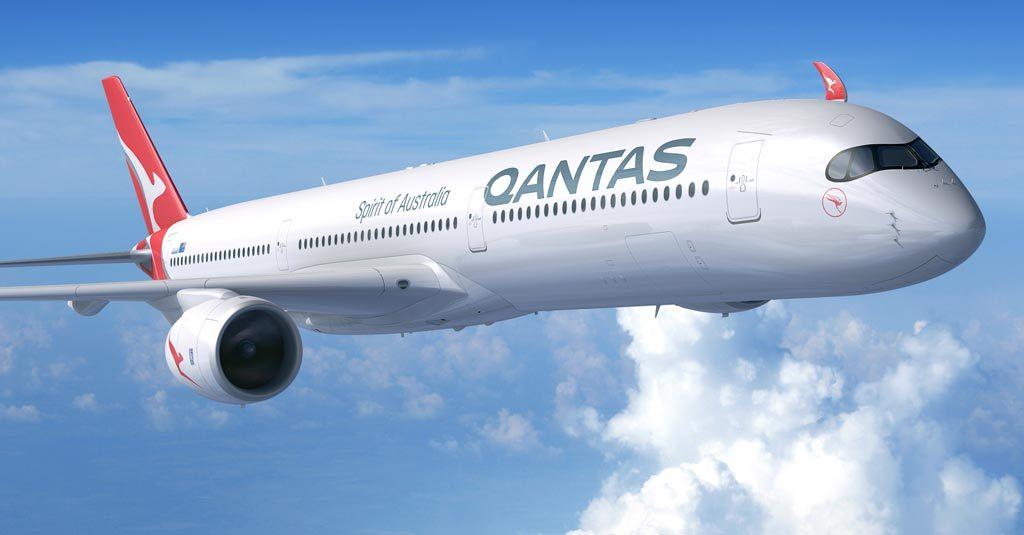 Qantas - Airbus A350-1000 (Render)