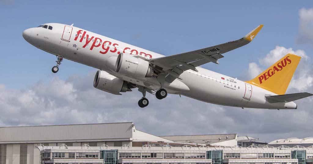 Airbus A320neo Pegasus (e-Delivery)